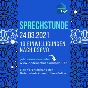 Sprechstunde 10 Einwilligungen nach DSGVO