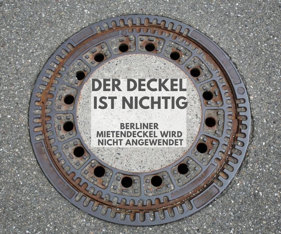 Der Berliner Mietendeckel ist vom Bundesverfassungsgericht für nichtig erklärt worden