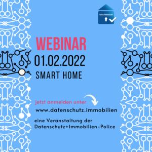 Webinar Smart Home und DSGVO