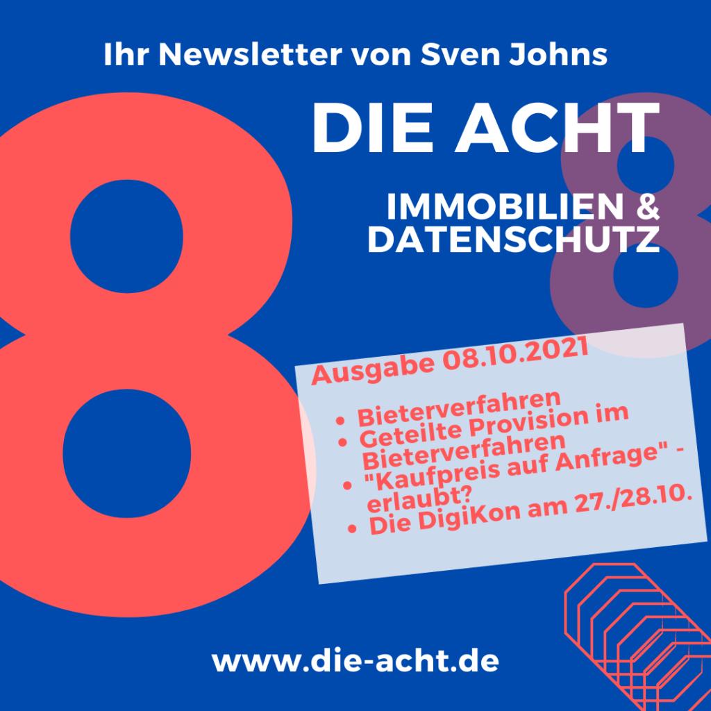 Die neue Ausgabe des Newsletters von Sven Johns ist erschienen